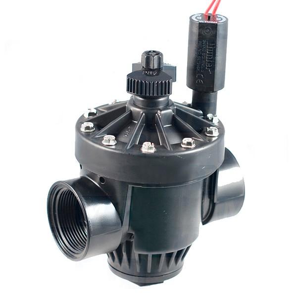 "PGV-201-B электромагнитный клапан с регулятором потока, 2""ВР, 24V"