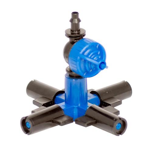 Микроспринклер FOGGER на 4 рожка голубое сопло
